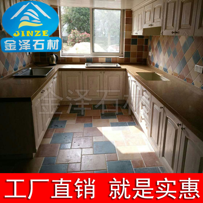 Shanghai Artificial Marble Countertops Custom Processing Imitation Marble  Kitchen Cabinets Countertops Quartz Stone Plate