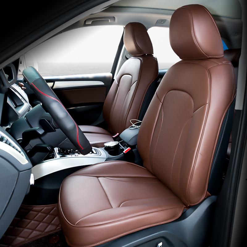 奥迪Q5真皮坐垫 A3 A4L A5 A6L Q3 Q7专车专用3D全包四季汽车座垫