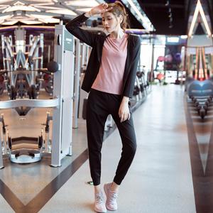 瑜伽服套装女秋冬宽松大码健身套装运动服速干运动套装女跑步新款