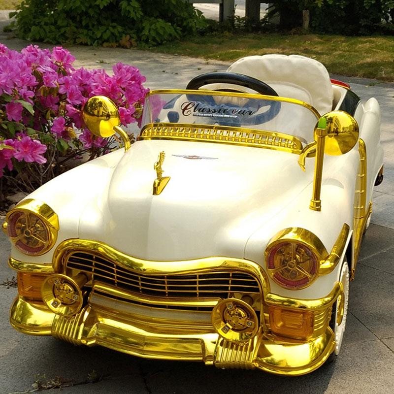 孩子王儿童四轮电动车遥控汽车可坐人童车玩具宝宝遥控电瓶车男女