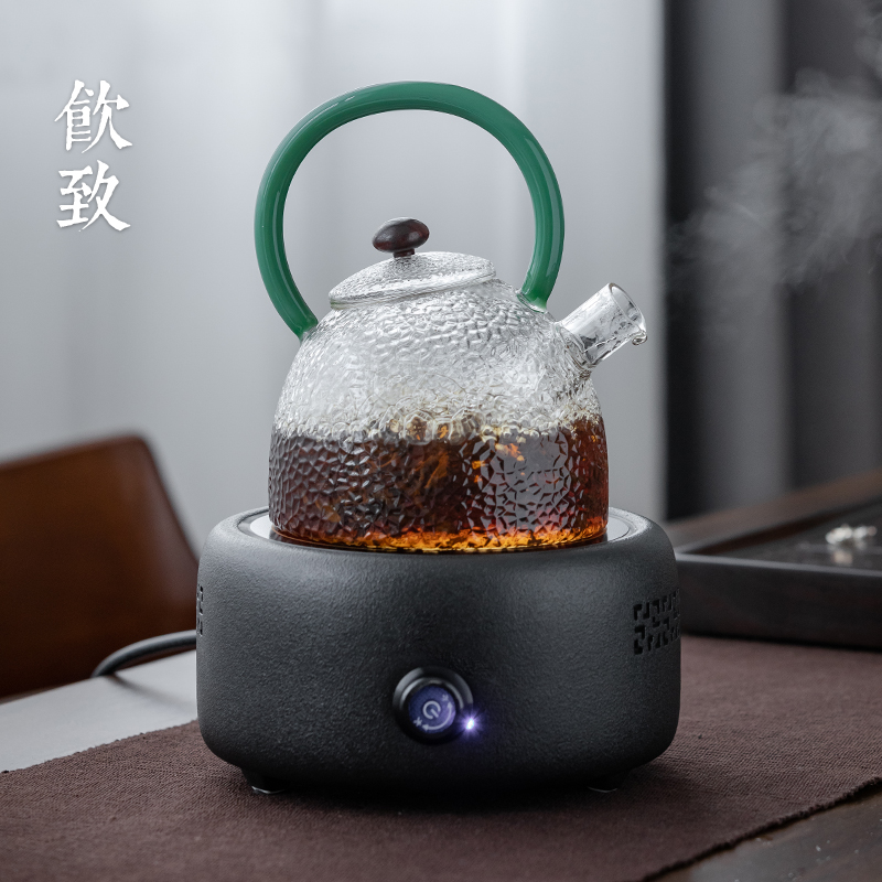 Ultimately responds to refractory glass tea kettle electric TaoLu tea stove thickening household suit transparent cooking pot direct fire