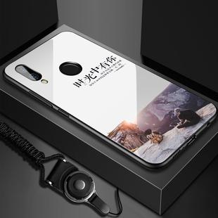 华为nova3硅胶硬镜面保护套