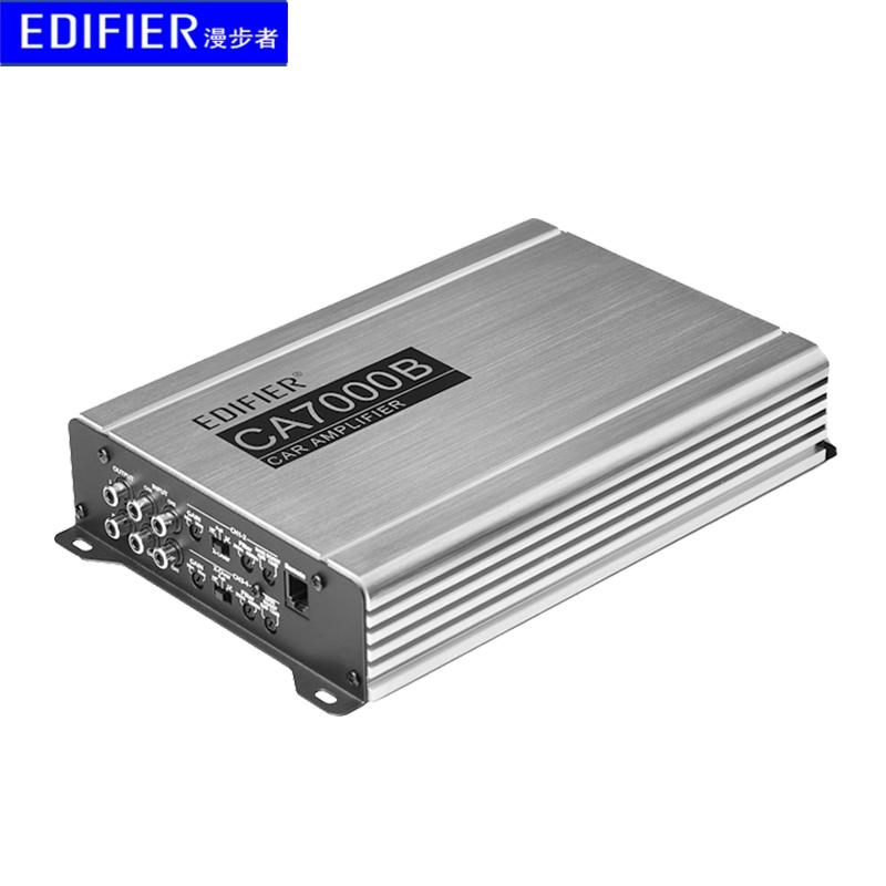 漫步者汽车功放CA7000B音效处理器12v车载数字4声道四路大功率