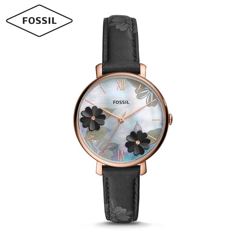 Fossil花漾表2019夏新款ins风3D立体花朵贝母表盘石英女表ES4534
