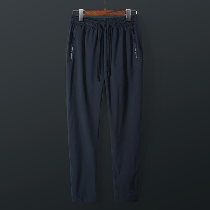 速干裤男夏季轻薄款跑步运动快干弹力时尚休闲透气户外登山裤长裤