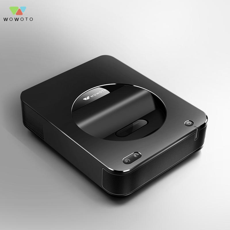 窝窝头S6超短焦距微型智能投影仪办公商用短焦投影教学家用影院