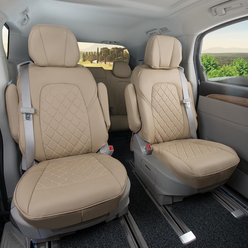代安专用于别克gl8坐垫 2017款gl8 28T座垫套 别克商务车坐垫四季
