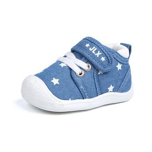 学步鞋女婴儿0-1岁2软底宝宝鞋防滑春秋透气6-12个月男童布鞋2019