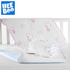 意婴堡 婴儿隔尿垫宝宝纯棉竹纤维隔尿垫防水透气大号可洗床单