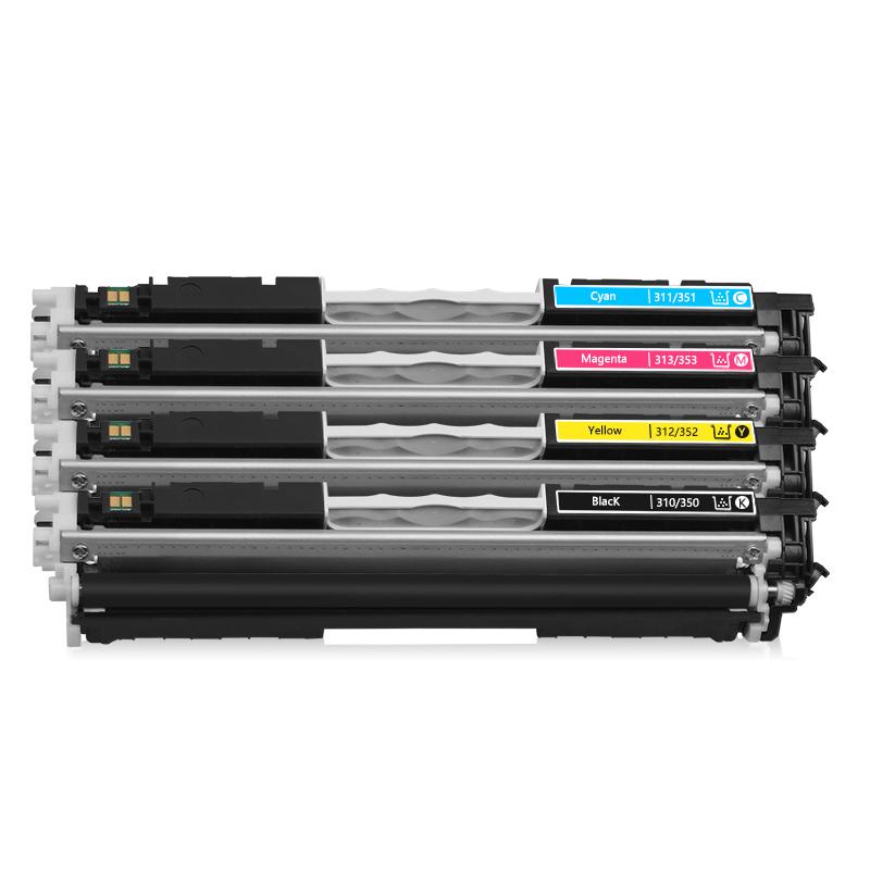 欧冠适用惠普HP1025粉盒CE310A CF350A HP126A墨盒 CP1025NW M175A M175nw硒鼓M176N M177FW M275NW打印机