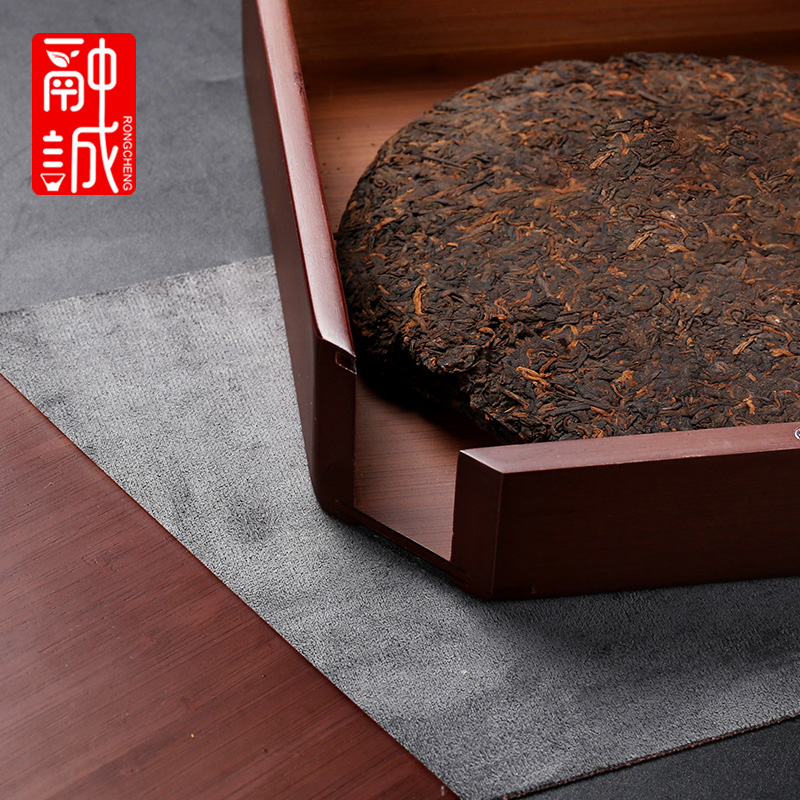 Pu - erh tea boxes tea cake tea storehouse tool shelf single drawer bamboo tea tray was kung fu tea accessories