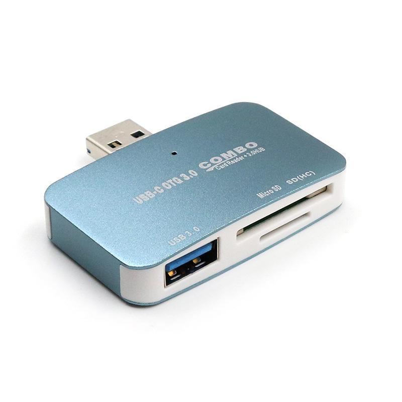 OPPO R9 R9S vivo x9手机USB3.0高速读卡器外接U盘内存卡相机SD卡电脑通用相机卡三星S7 X20 x21 TF卡多功能
