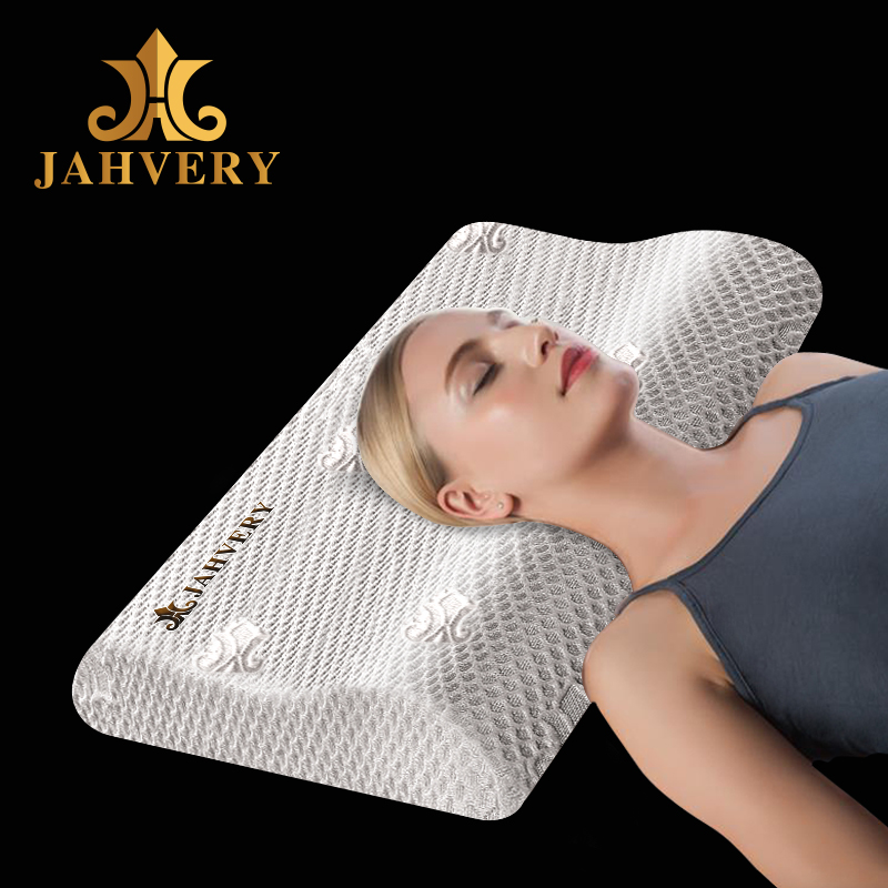 JAHVERY颈椎枕 正品慢回弹记忆棉枕头单人枕芯成人护颈助睡眠枕头
