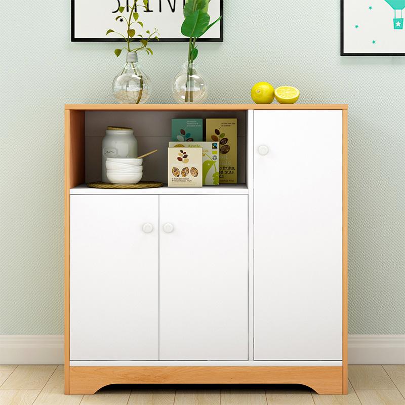 餐边柜多功能组装橱柜家用经济型储物柜碗柜简易厨房柜子茶水柜