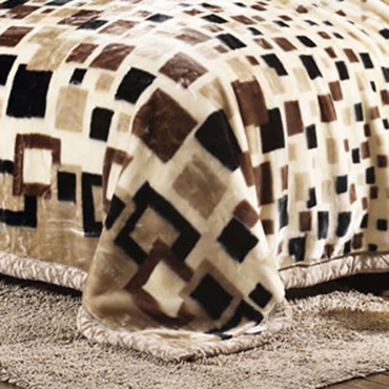 欧苏缦拉舍尔毛毯64649+6