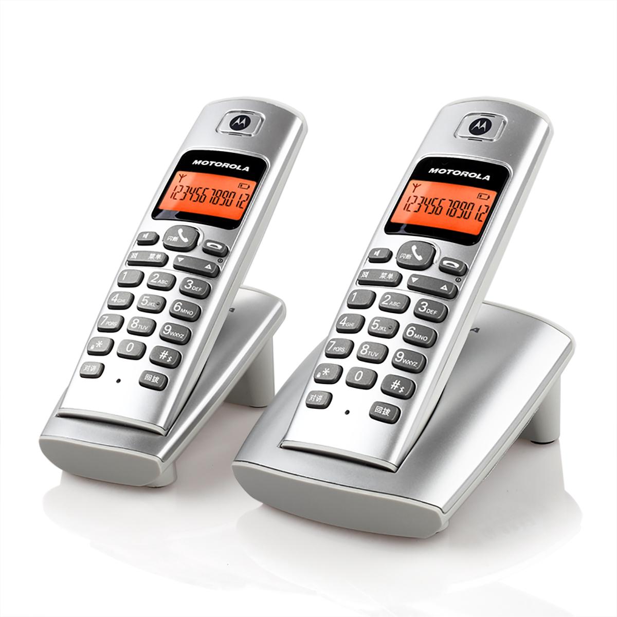 摩托罗拉D401C无绳电话机无线座机家用单机分机办公子母机