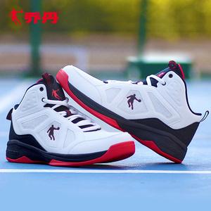 乔丹篮球鞋毒液5球鞋男高中帮运动鞋夏季跑步鞋减震透气学生战靴