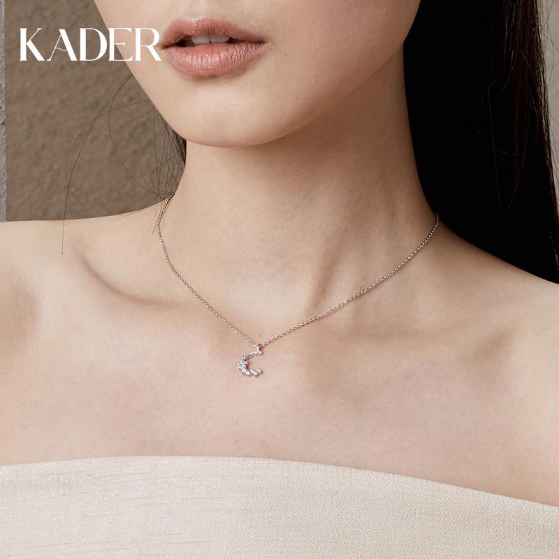 卡蒂罗纯银ins冷淡风项链简约气质小众锁骨链女潮韩版个性设计感