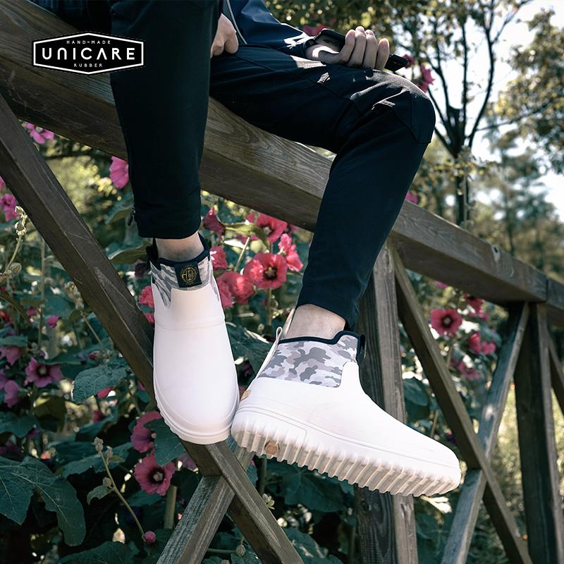(现货来袭)雨鞋男士短筒雨靴厚底时尚低帮防滑成人水鞋新胶鞋