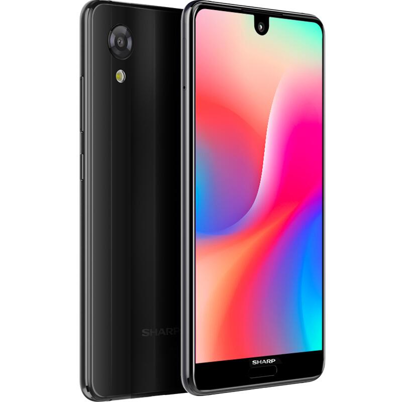 默认发曜石黑6+64GB夏普SHARP AQUOS S3miniS2 陨石黑全面屏手机Sharp-夏普 Z3