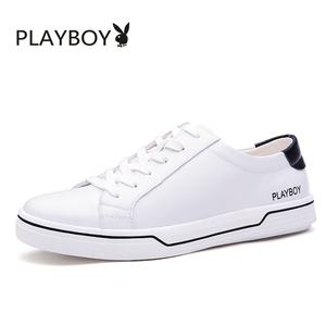 花花公子男鞋夏季潮鞋运动休闲鞋百搭板鞋男士小白鞋韩版潮流鞋子