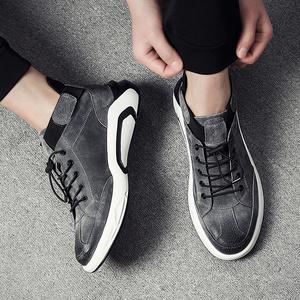 男鞋秋季韩版潮流透气休闲鞋内增高鞋子男跑步休闲百搭潮鞋运动鞋