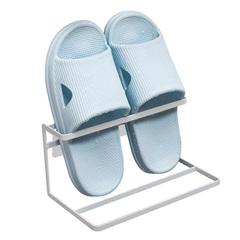 浴室拖鞋架墙壁挂式免打孔洗手间厕所卫生间门后沥水放鞋收纳神器