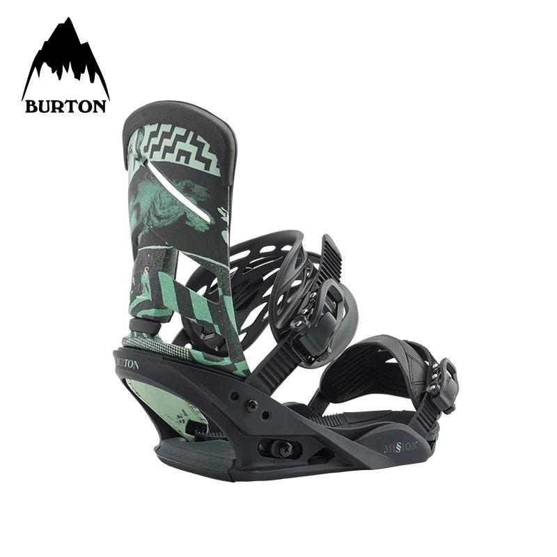 BURTON-伯顿 美国潮牌 新品单板 男子MISSION 滑雪固定器 105461