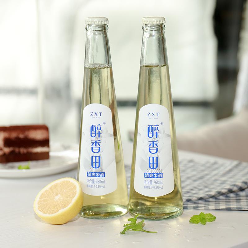 醉香田 清爽米酒 268ml*2瓶