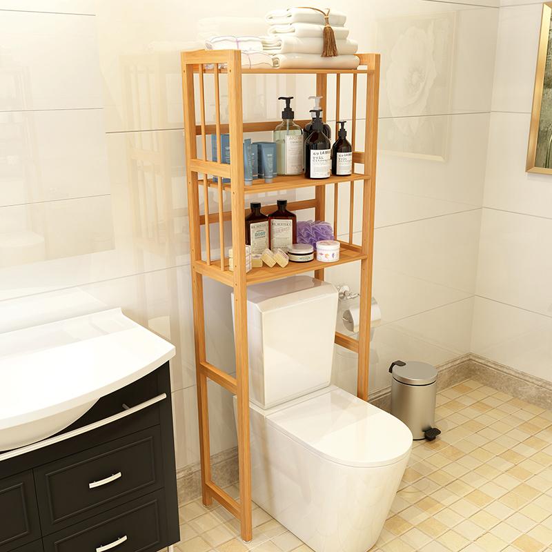 卫生间马桶置物架组装置地式浴室多层脸盆架子角落收纳架洗衣机架