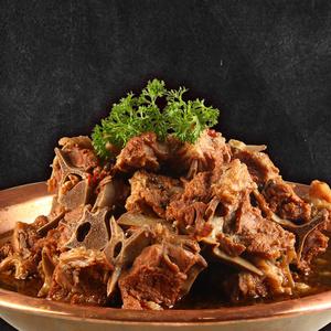 御盛斋羊蝎子脊骨火锅 内蒙古草原特产 清真羔羊肉即食礼盒1250g