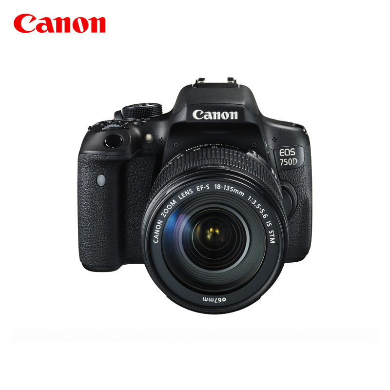 [旗舰店]Canon-佳能 EOS 750D 套机EF-S 18-135mm IS STM