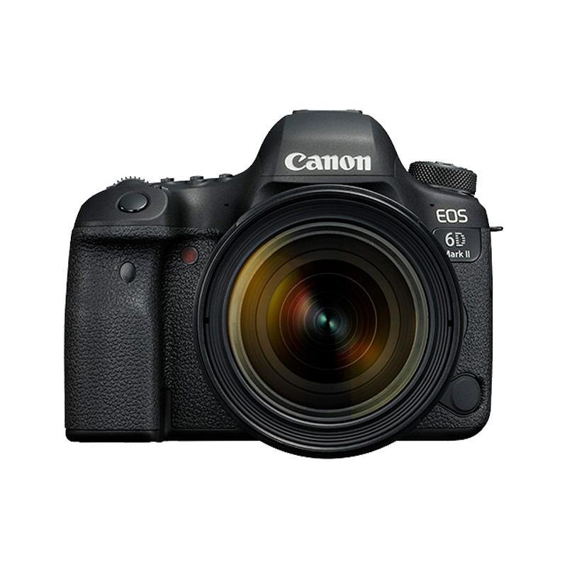 Canon-佳能 EOS 6D Mark II 单反套机(EF 24-70mm f-4L IS USM)