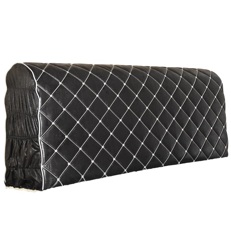 布艺夹棉床头罩实木床头套加厚欧式仿皮床1.5m防尘罩1.8床保护套