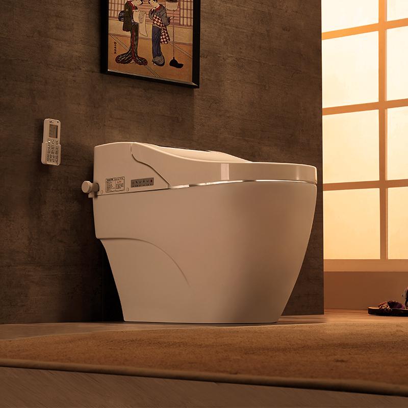 原野智能马桶一体式全自动家用电动冲洗一体化日本坐便器即热式
