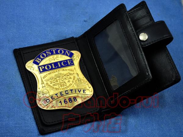 Сувенирные значки, Медали Коллекций Соединенные Штаты Америки Бостон/Бостон детектив медный значок металла