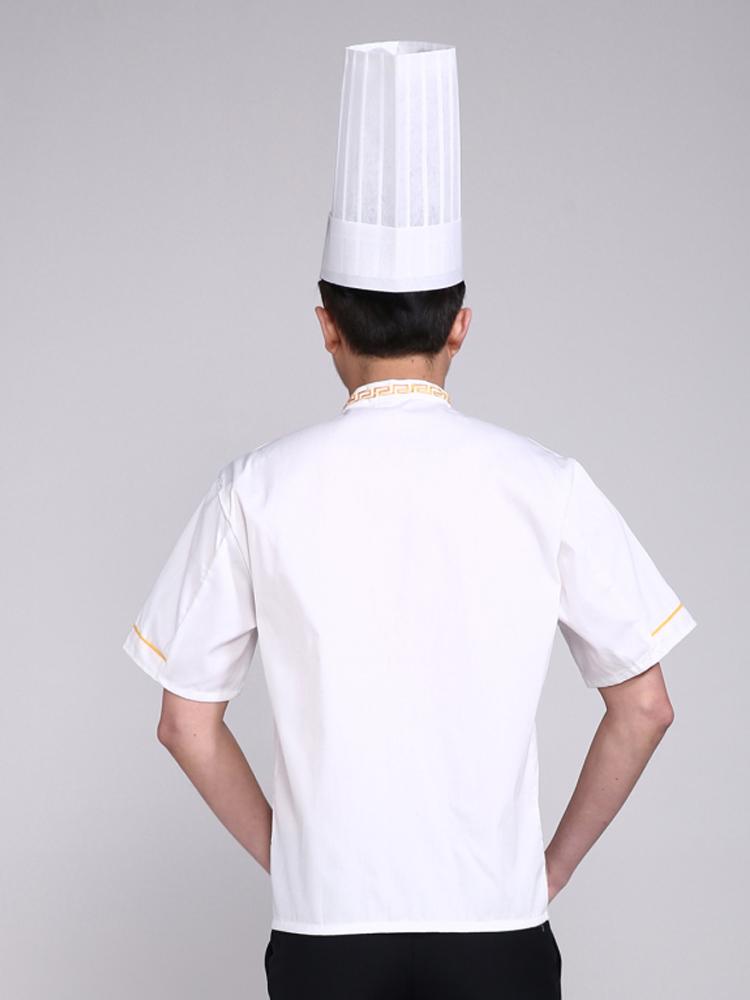 厨师帽酒店师高高帽西点厨师一次性厨师帽纸帽西餐厅厨师帽子泉州乙级v厨师窗厦门图片