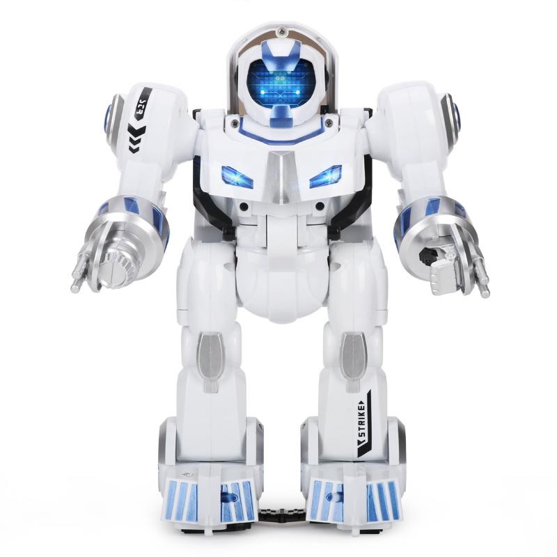 变形机器人指纹遥控战车智能语音电动学习对话高科技早教儿童玩具