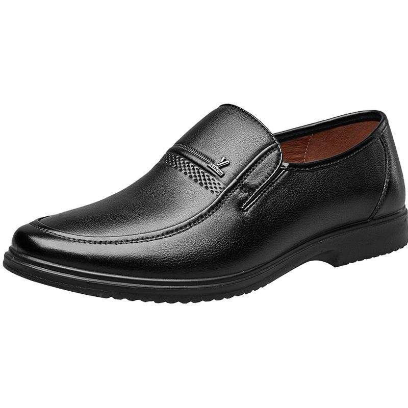 意尔康 男士中老年休闲鞋子
