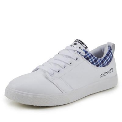 2105春夏季男士板鞋韩版潮流运动休闲鞋男学生透气鞋潮男鞋子白色