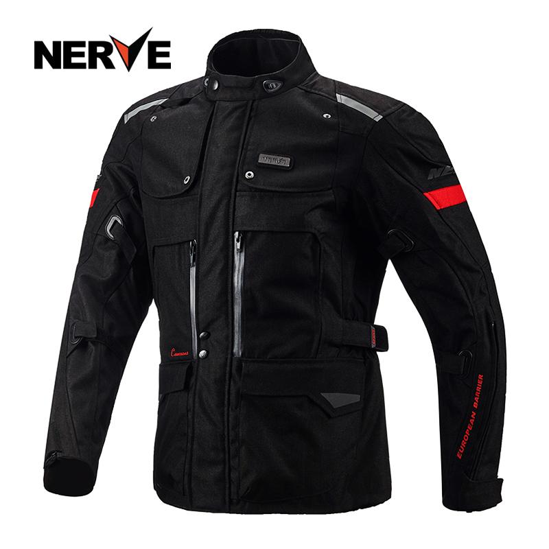 德国NERVE长途摩托车骑行服套装男三层拉力机车衣服防水冬季保暖