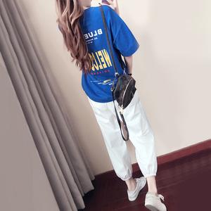 2019春夏季休闲运动服套装女新款韩版宽松时尚洋气跑步夏天两件套