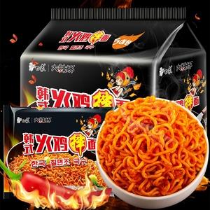 火鸡面5包袋装白象大辣娇国产韩式干拌泡煮香超辣速食方便面整箱