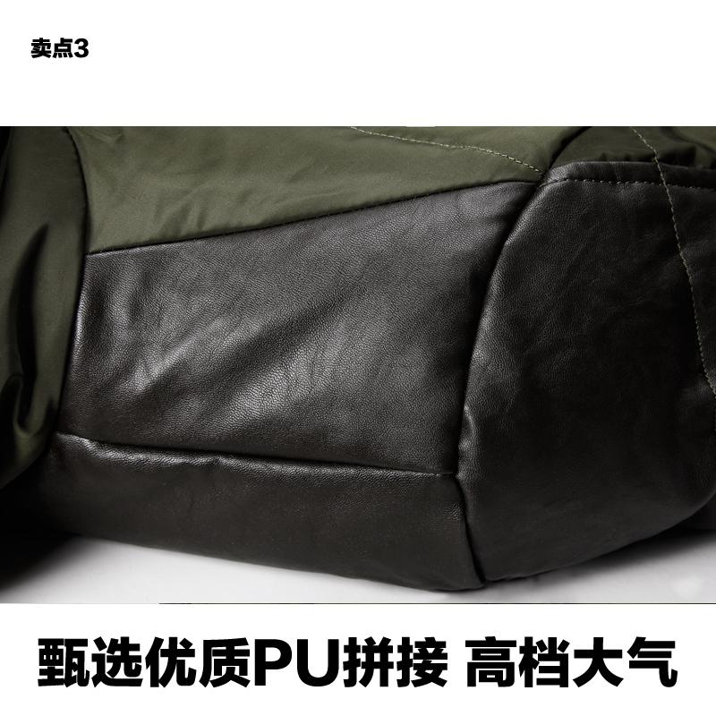 Пуховик длинный с капюшоном JNC 6653 чёрный купить теплый