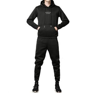 花花公子贵宾卫衣套装男韩版连帽外套休闲运动套装男士运动服学生
