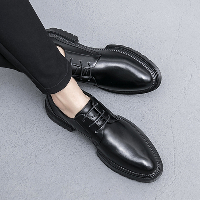 Men Fashion Leather Shoes Man Business Formal Shoes 979891
