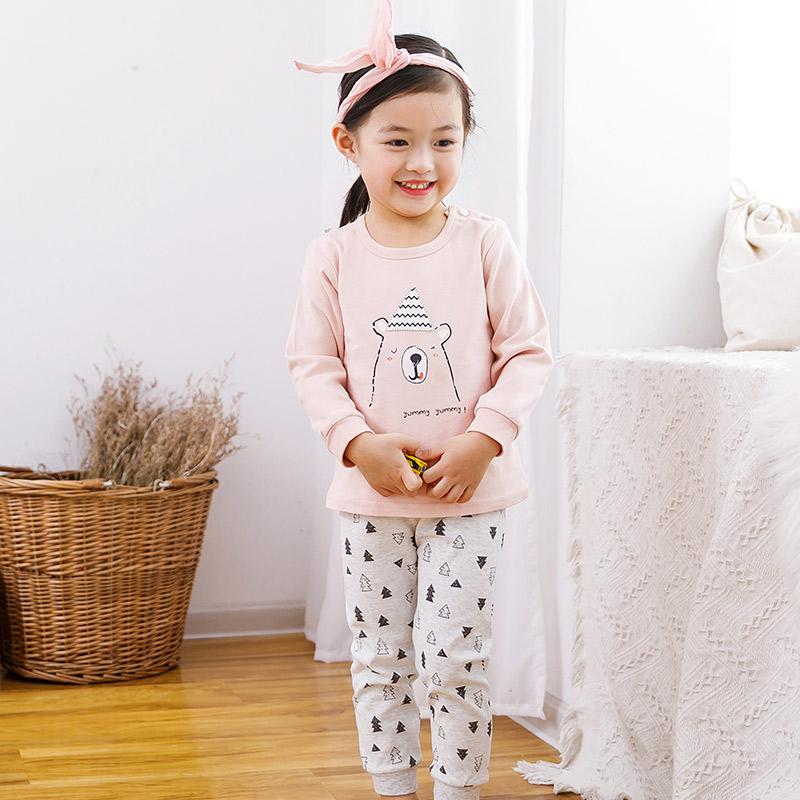 儿童内衣套装纯棉长袖全棉男孩女孩宝宝秋装套装秋衣裤婴幼儿睡衣