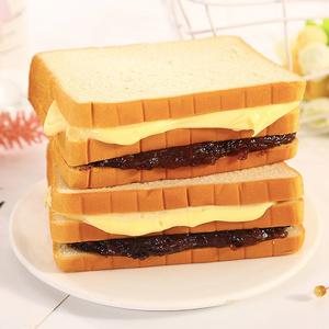 紫米面包整箱营养早餐全麦夹心奶酪吐司糕点切片小蛋糕零食1斤/箱