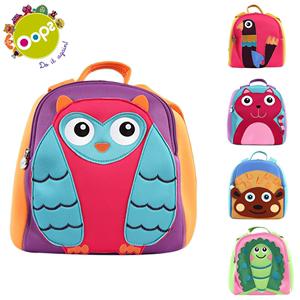 瑞士oops 幼儿园书包3-8岁儿童女孩宝宝可爱男童双肩小书包潮背包