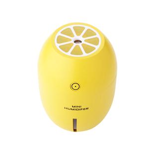 加湿器家用静音卧室小型喷雾车载车内迷你办公室桌面脸部补水仪便携式车用空调房usb香薰净化空气大雾量柠檬